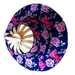 Verano Deportes al aire libre Turismo de playa Protección solar Gorra  plegable Sombrero de ventilador de bambú Sombrero sombrilla al aire libre  de las ... bbf05b8b39b