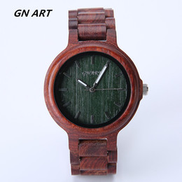 Wholesale Wooden Buckle - GNART309watch wood Halloween gift natural bamboo watch man watches woman watches Fashion watches Casual watch