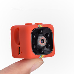 Wholesale Security Car Cameras Recorders - New HD-Mega Lens SQ11 DV HD 1080P Mini Pocket Camera 12MP Car DVR Motion Detection Multifunction Infrared Home Security Voice Video Recorder
