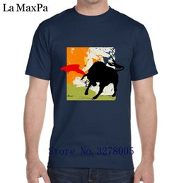24391f8622b La Maxza Design Tshirt Male Fashion Matador T-Shirt For Men Outfit Men s T  Shirt 2018 Plus Size Camiseta Personalizada Hot Sale