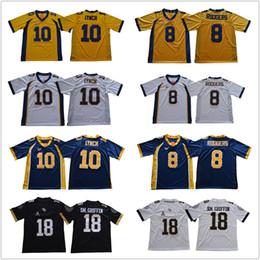 Wholesale aaron rodgers jersey football - Men #18 Shaquem Griffin 10 McKenziee Miltonn UCF Jerseys Cal 8 Aaron Rodgers 10 Marshawn Lynch navy blue white College football Jerseys