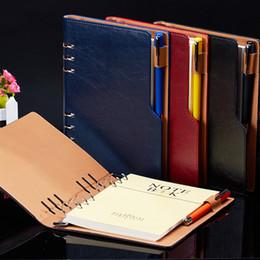 2019 ноутбук a5 hardcover ноутбук спираль a5 профессиональный Твердый переплет журнал вкладыш страницы A5 B5 вино кофе черный синий скидка ноутбук a5 hardcover