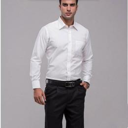 Wholesale Red Elegant Dress Long Xs - The most formal men long sleeve shirt is the high quality elegant pure white groom lapel custom wedding dress shirt
