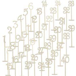 1-40 деревянные номера таблицы деревянные свадебные принадлежности свадьба место держатель номер таблицы рисунок карты цифровой сиденья украшения от