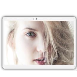 2019 sim doppio dual sim tablet Tablet 10.1 di grandi dimensioni aggiornato di recente Octa Core 4 GB RAM da 32 GB 64 GB Tablet PC Android 7.0 Dual SIM Dual Standby Wireless Bluetooth sim doppio dual sim tablet economici