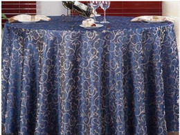 High Quality 160*160 Table cloth Table Cover round Banquet Wedding Party Decoration Tables Satin Fabric Wedding Tablecloth Home Textile desde fabricantes