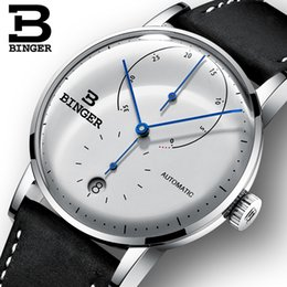 Switzerland BINGER Men's Watches Top  Automatic Mechanical Men Watch Sapphire Male Japan Movement reloj hombre cheap men mechanical watches japan от Поставщики мужские механические часы япония