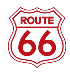Wholesale Lighted Poster Sign - Free shipping Rushed Diy Poster Vintage Signs Route 66 Number Stickers Living Room Wall Decals Window Home Decor Office Garage Custom sticke