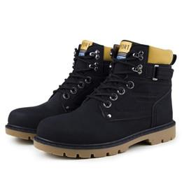 Wholesale Korean Snow Shoes - Outdoor surviva Hiking Boots men sport shoes men hiking mountain non-slip bootsMen's Boots Korean Style Cotton Boots Martin