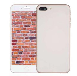 Wholesale Wifi Can - Sealed Box Real Fingerprint Goophone I8 plus smartphones 5.5inch 1G 4G Quad Core MTK6580 Can show fake 4G 128G 4G LTE Unlocked Cell Phone