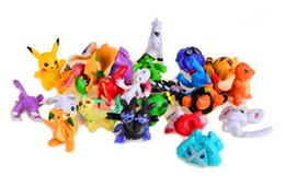 Wholesale Hand Puppet Dog Toy - Free Shipping High Quality 24pcs set Flocking Aminal Doll Dog Cat Monster Action Figure Toys Kids House Doll for collection