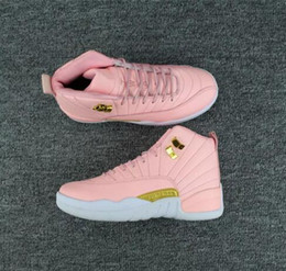 2019 chaussures roses Livraison gratuite 12 GS Pink Lemonade chaussures de basket 12S Femmes Pink Lemonade Sneakers Taille 36-40 promotion chaussures roses