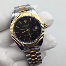 Robes de jour en Ligne-Haute qualité marque quartz acier inoxydable 40mm aaa de luxe mens montres en gros jour date hommes robe designer montre vente chaude horloges mâles cadeau
