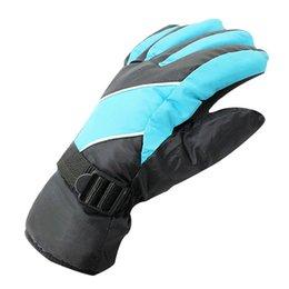 Wholesale Blue Mountains Ski - Windproof Warm Ski Gloves Antiskid Wear Resistant Riding Mountain Skiing Snowmobile Waterproof Snow Motorcycle Gloves
