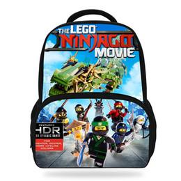 582ef0628 2018 Hot Popluar Filme Ninjago Impressão Crianças Mochilas Para Meninas  Adolescentes Mochilas Escolares Sacos de Livro LEGO Para Crianças Meninos  desconto ...