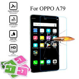 oppo a57 covers Coupons - 2pcs Tempered glass For OPPO A79 A77 A73 A71 A59 A57 A53 A51 screen protector protective guard film case cover + package