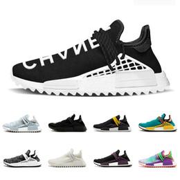 new styles d9fd8 068bf Colette Raza humana Hu trail x pharrell williams Nerd hombres zapatos para  correr Chalk Coral Canvas Canvas en blanco pálido para hombre entrenadores  ...