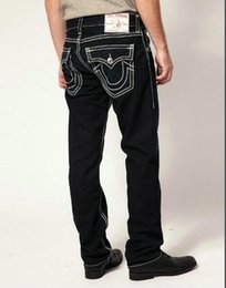 Wholesale Mens Black Classic Straight Jeans - TR Men's Distressed Ripped Skinny Jeans Fashion Designer Shorts Jeans Slim Motorcycle Moto Biker Causal Mens Denim Pants Hip Hop Men Jeans.
