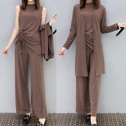 dcf85bba91 invierno mujeres elegantes pantalones trajes Rebajas Conjunto de 2 piezas  de chándal mujer pantalón de 3