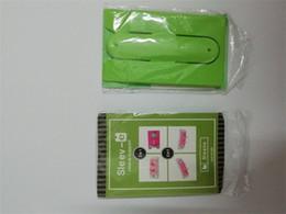 Logos gedruckt porzellan online-OEM Günstige Mode China Lieferanten Großhandel Benutzerdefinierte Logo gedruckt Silikon Handy Business Credit ID Kartenhalter für Handy