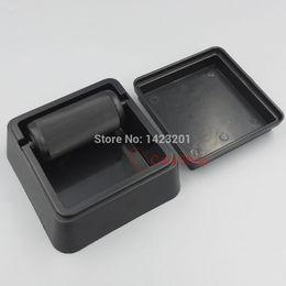 Wholesale Pc Medical - 1 pcs   Lot Black Plastic DIY Leather Speedy Edge Finisher Top Edge Dye Roller Applicator Box