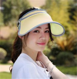 884f9d6de0d Discount hats big heads men - 2018 Simple Fashion Adjustable Solid Sport  Visor Hat Large Wide