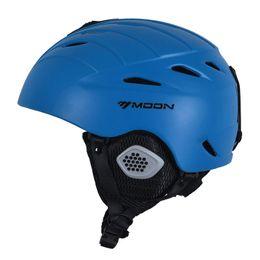 Wholesale Material Eps - MOON New Arrival Adult and Kids Ski Helmet Ultralight Ski Snowboard Helmet Snow Ultralight PC+EPS Material