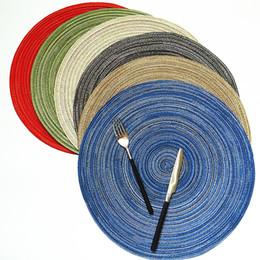 Nuovi prodotti all'ingrosso tabella di casa in stile giapponese e coreano con il rilievo di pad di isolamento di placemat di cibo sfondo di cottura, 6 colori da prodotti alimentari all'ingrosso fornitori