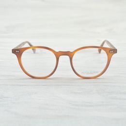 c6a622084d3 Retro Vintage Oval Round Eye Glasses Frames Delray Women Men Eyeglasses  Spectacle Eyewear Frames For Myopia Prescription Lense