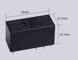 2019 relè di potenza in miniatura Accessori elettronici Forniture Relè elettromagnetico Relè elettrodomestico relè Relay da 16A Relè elettrodomestico