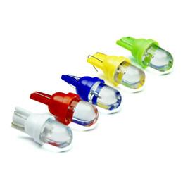 Wholesale blue signal lights - 100PCS T10 LED 1SMD w5w bulb led Automotive 194 12v auto reading light car styling