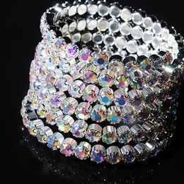 475d4865ea New Belly dance Bangle silver Crystals Stone Bracelet Jewelry Armband Arm  Cuff Bellydancing circlet wristlet Accessories 31170