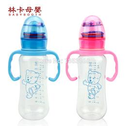 Wholesale Big Baby Bottles - Free Shipping 250ml Big Volumn Pc Baby Feeding Bottle With Standard Neck Baby Milk Bottle