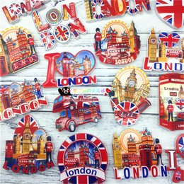 Wholesale Resin 3d Fridge Magnets - Wholesale-I Love London UK Resin 3D Fridge Magnet World Souvenirs Refrigerator Magnetic Stickers Home Decoration