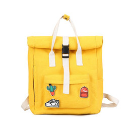 4a7aac5f7b Cactus Decals Women yellow Backpack