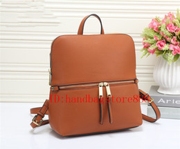Wholesale Satchel Lady - 2018 new arrival women fashion MICHAEL KALLY backpack style bag famous brand handbags school bag lady luxury Designer shoulder bags purse