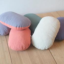 Wholesale Car Seat Lumbar Pillow - Memory Foam Breathable Healthcare Lumbar Cushion Back Waist Support Travel Pillow Sofa Car Seat Home Office Pillows Relieve Pain