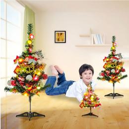 2018 New Luxury Led Fibra ottica Nightlight Decorazione per la casa Light Lamp Mini Christmas Tree Ornaments Decorazioni Navidad da
