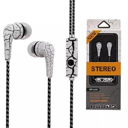 Wholesale Iphone Noise - New arrival earphone universal 3.5mm in ear earphones braided ear phones headset headphones with mic Earbuds For Samsung iPhone HTC huawei