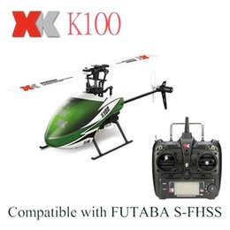 Wholesale Ch Toy - Original XK Mini Helicopter 2.4G 6 CH with Gyro RTF Version 3D 6G System RC Helicopter Compatible Children Kid Toys