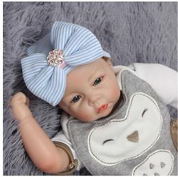 Neonati Cappelli 0-3 Mesi Big Bow Knot Rosa Diamond Stripe Toddler Knit  Caps Caldo Cappello Infantile Migliori Regali Per Bambini Cappelli  Spedizione ... ec128c8bc8f5