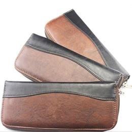 Cabelo de luxo on-line-Upscale couro profissional tesoura de cabelo caso tesoura capa de tesoura de cabeleireiro