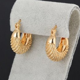 Wholesale rich jewelry - New Style Newest Desiger Rich fish Earrings Women Fashion Jewelry Hot Sale Vintage 18K Gold Plated Hoop Earrings for Party as gift Bijoux