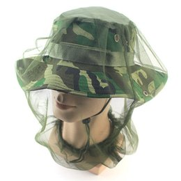 Wholesale net beanies - Hat Protector Camping Head Net Mesh Midge NEW Insect Mosquito Travel Face Bug 1 pc Skullie & Beanie