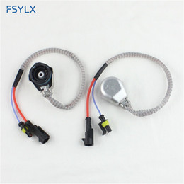 amp connectors UK - FSYLX D2S D2R D2C XENON HID BULB SOCKET WIRE CABLE ADAPTOR CONNECTOR HARNESS D2S D2R D4 AMP HID ADAPTER CONVERTER SOCKET CABLES