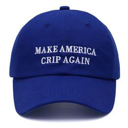 Lettera di alta qualità FARE AMERICA CRIP AGGIORNAMENTO Snapback Cap cotone berretto da baseball per uomo donna Hip Hop papà cappello osso Garros da
