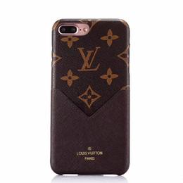 Крышка обратной карты онлайн-Роскошный кожаный чехол для iPhone X iPhone 6 6plus 7/8 7/8plus Мягкая защитная крышка для мобильного телефона