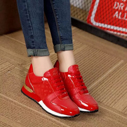 Wholesale Brand Name Box - Wholesale Best Sneakers Top Quality with Box Walking exaggerated-sole Name Brands Designer Genuine Leather famous Women Fashion Casual Shoes