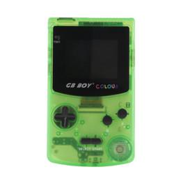 """Jeu vidéo 2.7 en Ligne-2.7 """"GB Boy Color Handheld Mini console de jeux Classic Game Player vidéo avec rétro-éclairé et 66 jeux rétro pour enfant cadeau livraison gratuite"""
