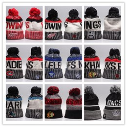 summer garden hats Promo Codes - Hot Selling Winter Knitted Wool Hats NHL Women And Men Sport Caps Hiphop Beanies Warm Hat Mix More 5000+Styles